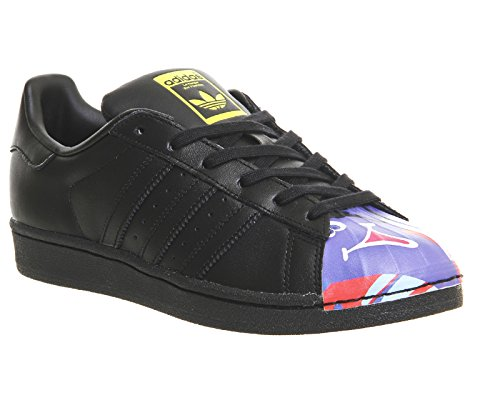 adidas Unisex – Adulto Superstar 1 Mr Sport Shell Toe Nero / Blu Scuro
