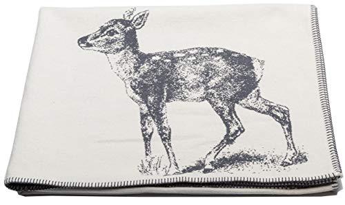 David Fussenegger NOVA Bettüberwurf, Cotton, rohweiß, 145 x 220 cm