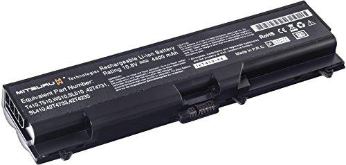 Mitsuru® 4400mAh Notebook Laptop Akku Batterie für IBM Lenovo ThinkPad SL510 L-410...