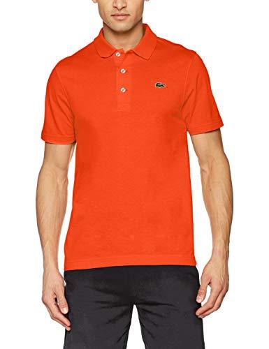 14d3de9cfc Lacoste Men's L1230 Polo Shirt, Red (Mexico 5mk), Large