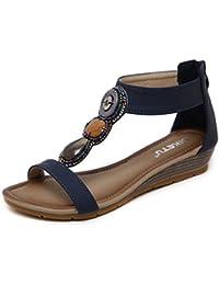 Sandali con allacciatura elasticizzata per donna Lvrao