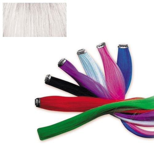 Mèche de cheveux synthétiques à clipper Stargazer - couleur : blanc