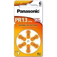 Panasonic Hörgerätebatterien PR13 (10 Blister Pack - 60 Batterien)