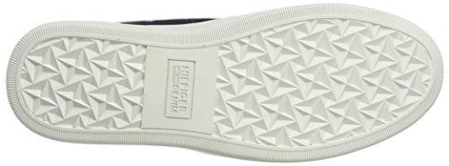 Tommy Hilfiger Mens T2385yke 1a Low-top White (bianco 100)