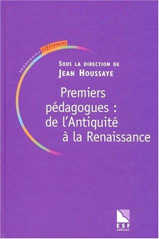 premiers-pdagogues-de-l-39-antiquit--la-renaissance