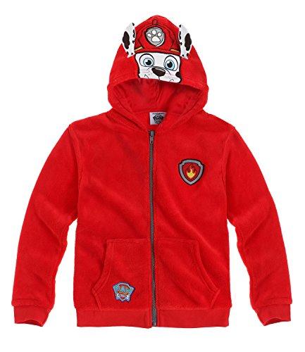 Pat' Patrouille Garçon Polaire zippé 2016 Collection - rouge Pat' Patrouille