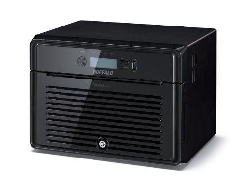 Buffalo TS5800DWR0808-EU TeraStation (5800 WD Red, 8TB, NAS-Server) schwarz | 4981254028018