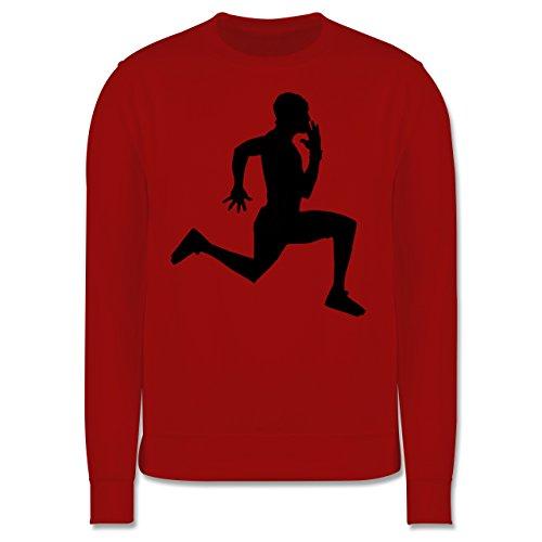 Laufsport - Läufer - Herren Premium Pullover Rot