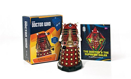 Doctor Who: Supreme Dalek and Illustrated Book: With Light and Sound (Miniature Editions) (Horror Charakter Kit)