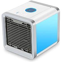 Miniacondicionador de aire portátil; humidificador y purificador del aire; ...