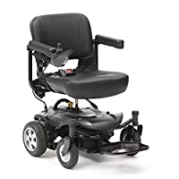 Easy-Split Folding Travel Powerchair Electric Wheelchair Mobility Aid 4mph