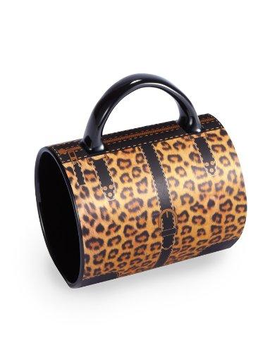 Wild Ösen Leopard Hand Tasche Becher (Hand Öse)