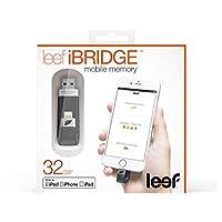 Leef Ibridge Mobil arttırılmasıyla iPhone, iPad ve iPod için–Lightning ve USB ile 32 GB Siyah LIB000KK032E6