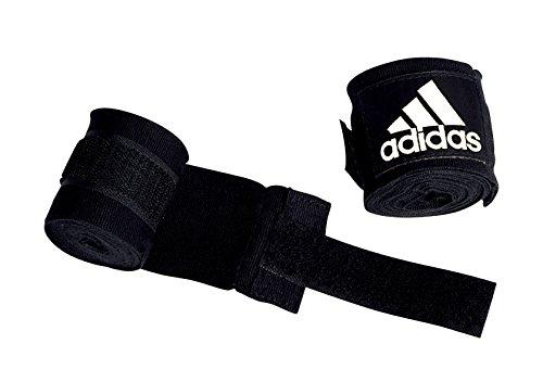 adidas Boxing Crepe Bandage New AIBA Rules, Schwarz, 5.7 x 4.5 m, ADIBP031