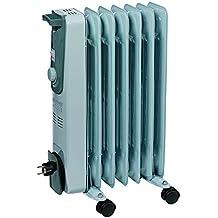 Einhell Elektro Heizung Ölradiator MR 715/2 (1500 Watt, 3 Heizstufen, Thermostat, 4 Lenkrollen, praktische Kabelaufwicklung, integrierter Griff)