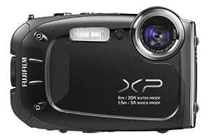 Fujifilm FinePix XP60 Digitalkamera (16,4 Megapixel, 5-fach opt. Zoom, Full-HD, 6,9 cm (2,7 Zoll) LCD CMOS Sensor, HDMI, bildstabilisiert, USB 2.0) schwarz