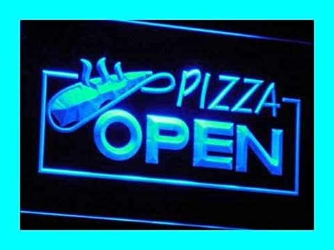 Enseigne Lumineuse i026-b OPEN Pizza Restaurant Displays Neon Light Signs