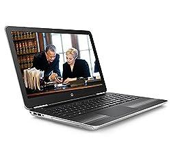 HP 15-AU003TX 15.6-inch Laptop (Core i5-6200U/8GB/1TB/Windows 10 Home/2GB Graphics), Natural Silver