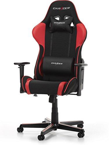 DX Racer OH/FL11/NR Siège Gaming Noir/Rouge