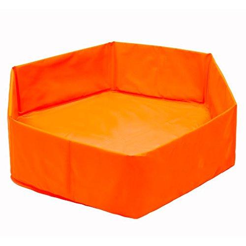 Faltbarer Swimmingpool / Baby-Haustier-Bad 65CM Orange