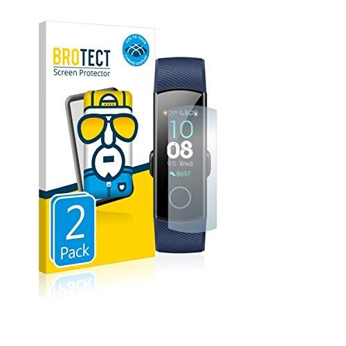 2X BROTECT Flex Full-Cover Bildschirmschutz Schutfolie für Huawei Honor Band 4 (kristallklar, Edge to Edge, Self-Healing, stoßabsorbierend)