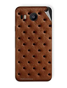 Miicreations Mobile Skin Sticker For LG nexus 5x,Biscuit Design