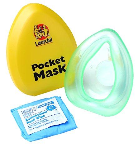 Laerdal Taschenmaske mit Ventil und Filter - Filtrete Luft