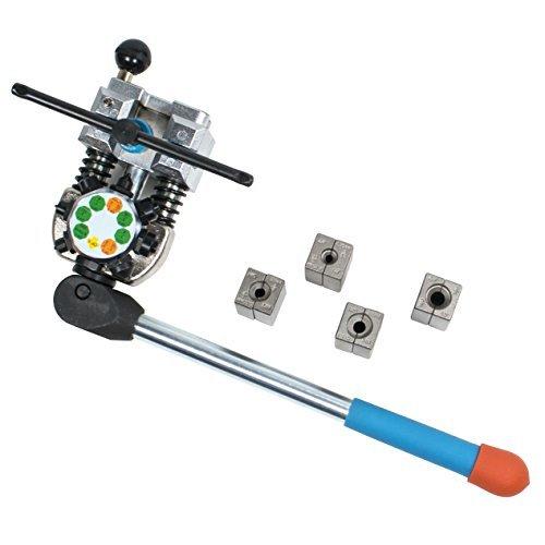 TGR-Professionelle Bremsleitung Bördelgerät Werkzeug 45Grad Set-Single, Bubble, und doppelt Fackeln (45 Auto Stirbt)