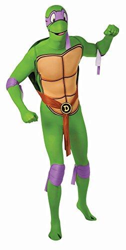 2nd Skin Overall TMNT Ninja Turtles Donatello Karneval Fasching ()
