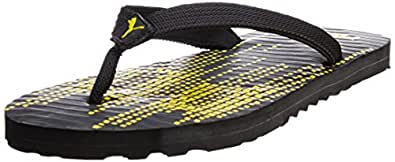 Puma Unisex Animatrix Black Flip Flops - 10 UK