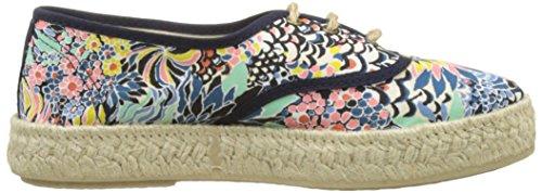 Pare Gabia Lotus, Sneakers Femme Bleu (Bleu Imprime)