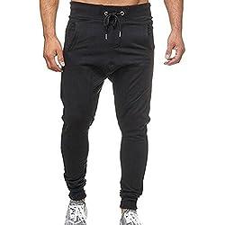 Pantalones Hombre Trabajo Multibolsillos Elasticos Pantalones Hombre Chandal Anchos Pantalones Hombre Chandal
