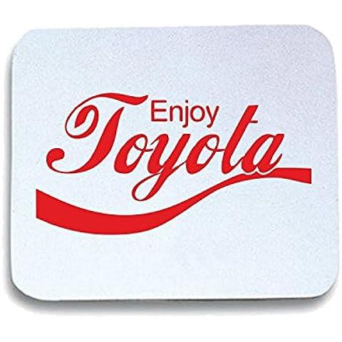 Cotton Island - Tappetino Mouse Pad ENJOY0096 Enjoy Toyota JDM Shirt, Taglia taglia unica