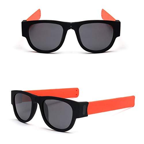 TDPYT Polarisierte Sonnenbrille Clap Ring Eyewear Faltbare Uv400 Handgelenk Sonnenbrille Einzigartige Männer Frauen