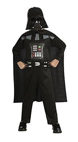 Star Wars   Disfraz de Darth Vader para niño, Talla S infantil 3 4 años (Rubie'S 881660 S)