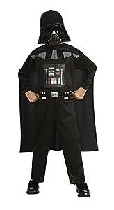 Star Wars - Disfraz de Darth Vader para niño, Talla L infantil 8-10 años (Rubie