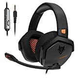 NUBWO PS4 Headset Xbox one Stereo Gaming Headphone with Noise Cancelling with in-line