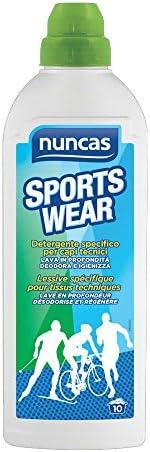 Sportswear detergente specifico