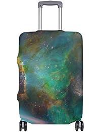 Preisvergleich für COOSUN Deep Space Print-Reise-Gepäck Schutzabdeckungen Waschbar Spandex Gepäck Koffer Cover - Passend für 18-32...