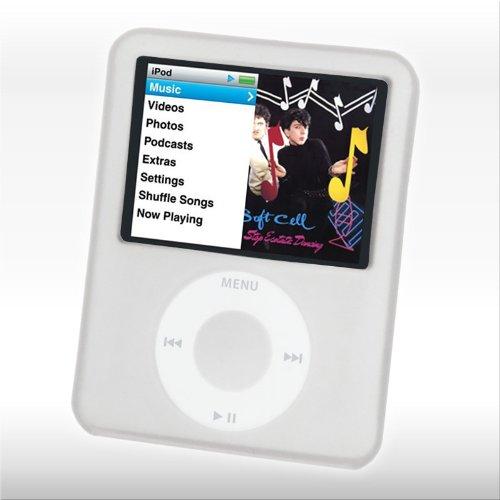 Schutzhülle 'COVER SOFT FRAME' für Mediaplayer - Silikonhülle für 3rd Generation: Passgenaues Schutzcover für iPod nano 3rd als transparentes Silikoncover!