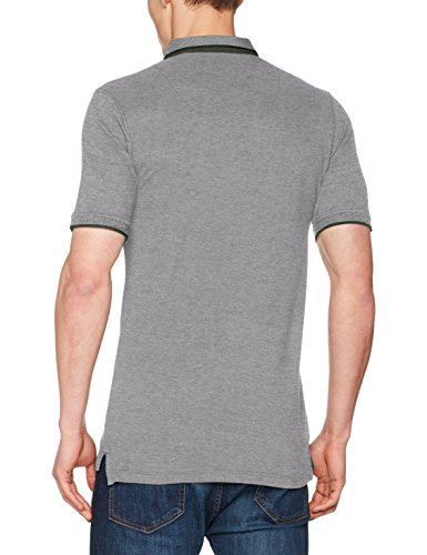 ONLY & SONS Herren T-Shirt Onsstan SS Fitted Polo Tee NOOS Grau (Thyme)