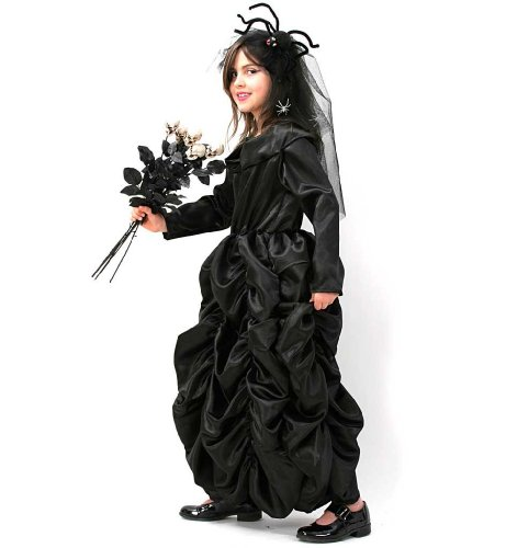 Black Princess Schwarze Prinzessin Kinder 128 - 164