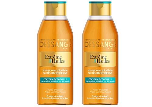 Dessange – Extrême 3 Öle Micellaire Nutri-Regenerierendes Haar – 250 ml – 2 Stück