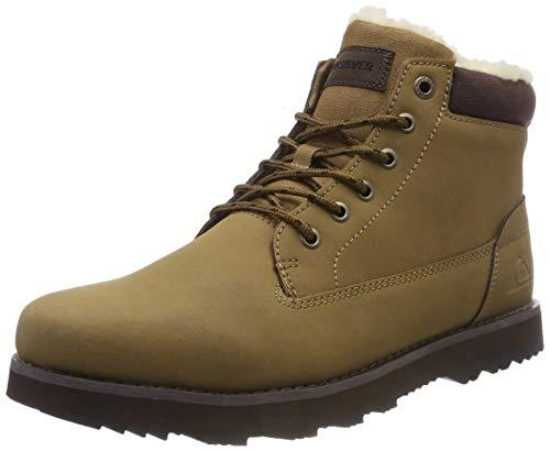 Quiksilver Mission V-Shoes For Men, Botas de Nieve para Hombre, Beige (Tan-Solid Tkd0), 44 EU