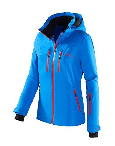 Black Crevice Damen Skijacke, Blau/Rot, 42, BCR251006