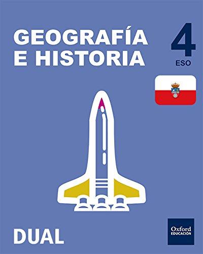 Pack Inicia Dual Geografía E Historia. Libro Del Alumno. Cantabria - 4º ESO - 9780190506346