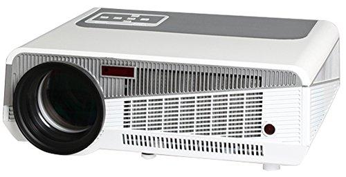 Luxburg® Beamer Full HD (1080p), LED 3D DLP tragbarer Projektor, 2500 Lumen, mit HDMI/ USB/ Wi-Fi/ Micro SD/ DLNA, Android 4.2