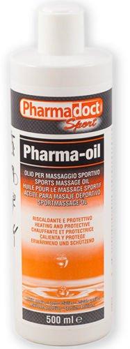 6 flaconi olio riscaldante canforato 500 ml OFFERTA STOCK pharmadoct pharma oil massaggio sportivo sport PDK04