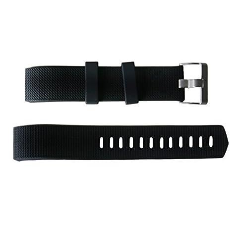 Bracelet de rechange pour Fitbit Bracelet Bracelet Sport Souple en silicone avec Libération Rapide Sport bande