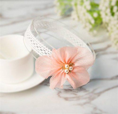 MwaaZ Kosmetik Haarschmuck Pflaumenblüte Haar Dekoration Spitze Elastizität -